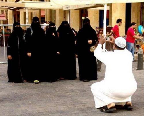 Mutlu bir Müslüman aile