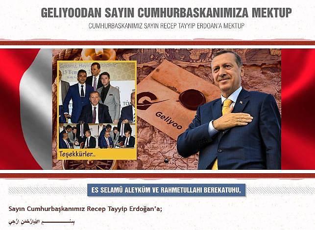 Erdoğan'a mektup